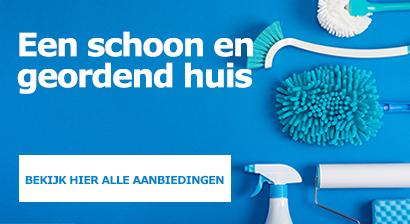 Maak jouw huis schoon en geordend
