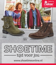 Folder Shoetime Kaatsheuvel
