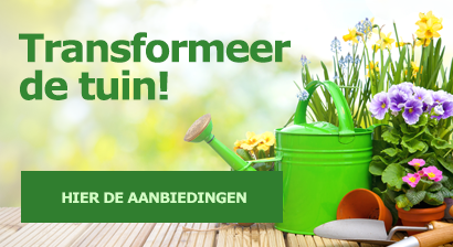 Transformeer de tuin!